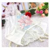 Quần lót nữ thêu hoa nổi ren mềm mại quyến rũ MDH-QR1102 ( trắng)