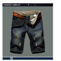 Giá Bán Quần Ngố Jeans Short Bo Lửng Xước Thời Trang Nam 2017 Timashop26 Js1 Oem Tốt Nhất