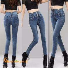 Giá Bán Quần Nữ Đẹp Quần Jean Nữ Lưng Caođinh Đa Glq053 Cuocsongvang Mới