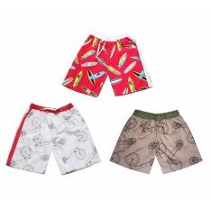 Hình ảnh Quần short cho bé trai 3-12 tuổi Tri Lan (Màu ngẫu nhiên)
