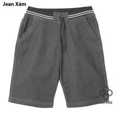 Giá Bán Quần Short Jean Nam Lưng Thun Cao Cấp Xam Hoa Long Co Big Size Trong Vietnam