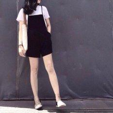 quần short yếm (đen)