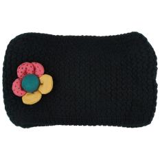 Giá bán Refreshing Candy Color 3D Flower Crochet Scarf for Girls - intl