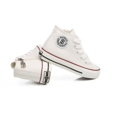 Hình ảnh RenBen Thương Hiệu Mới và Chất Lượng Cao Trẻ Em Giày Vải Thời Trang Giày Trẻ Em Bé Trai Bé Gái Giày (EU SIZE18-37/Trắng) -quốc tế
