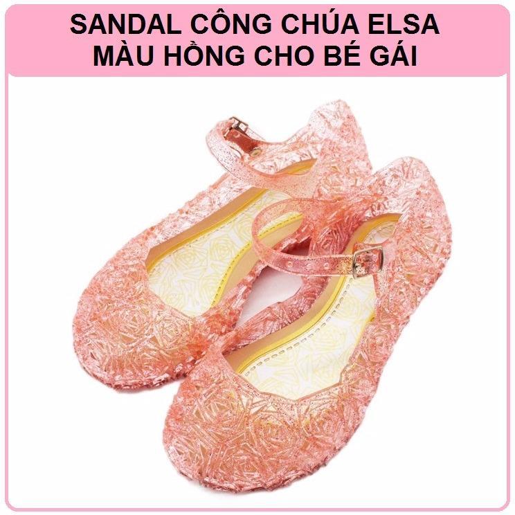 Sandal Công Chúa Elsa Cho Bé Gái