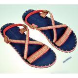 Mã Khuyến Mại Sandal Thổ Cẩm Nữ Quai Ngang Xanh Đen Tfw8532 35 Hồ Chí Minh