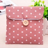 Sanitary Napkins Pads Carrying Bag Small Articles Gather Pouch Pink - intl