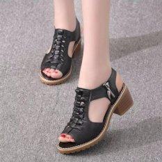 SD02D - Giày sandal nữ cá tính , Phong Cách Hàn Quốc. Nhật Bản