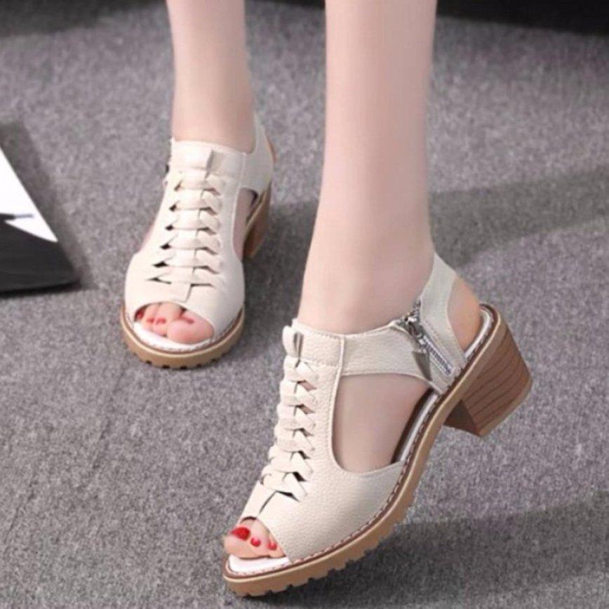 SD02K - Giày sandal nữ cá tính, Phong Cách Hàn Quốc. giá rẻ