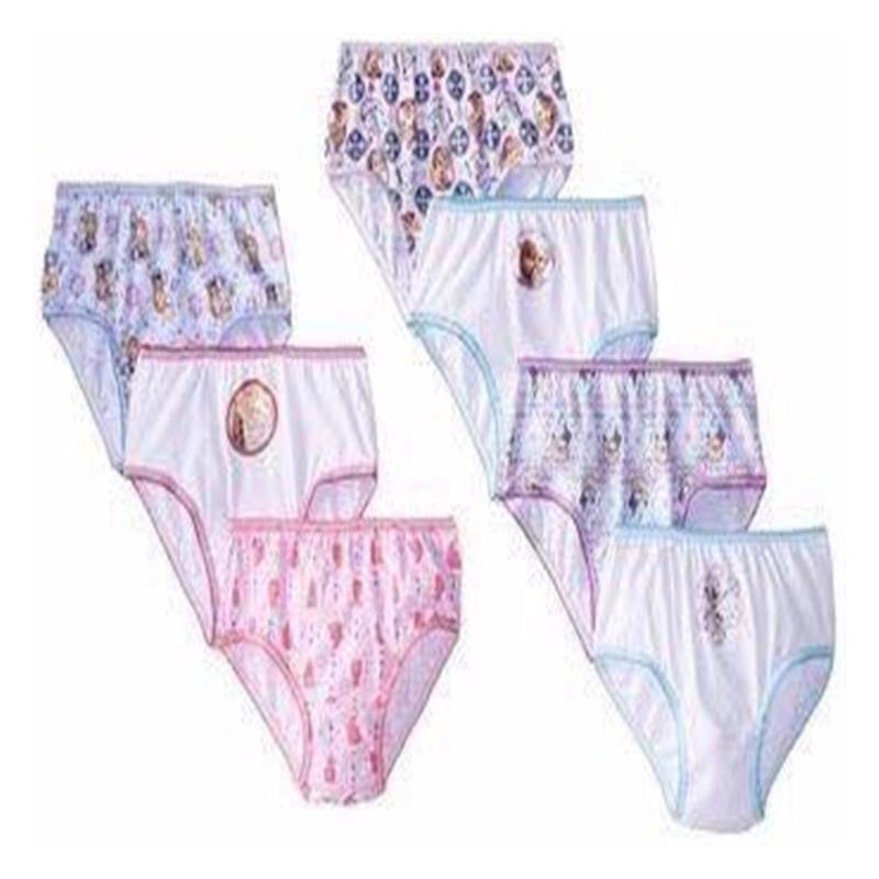 Nơi bán Bộ 7 quần chip bé gái cotton xuất khẩu xịn 3-8 tuổi