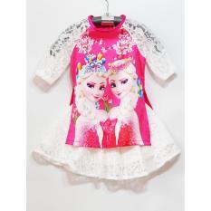 Giá bán Sét áo dài cách tân+váy công chúa 3D cho bé (số 3)Chipxinhxk