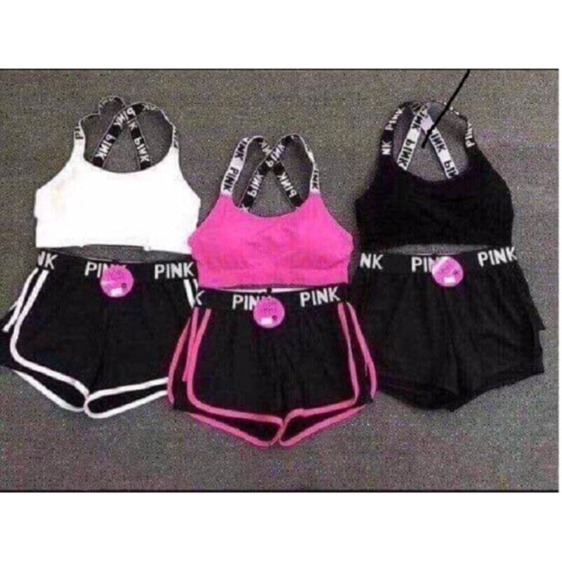 Nơi bán Set bộ đồ bơi và tập thể thao màu đen  ĐBĐ39