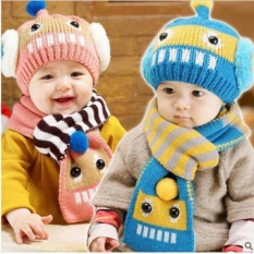 Hình ảnh Sét mũ khăn len dễ thương cho bé hàng đẹp giá rẻ