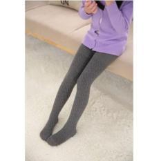 Tất vớ quần len thun trẻ em từ 6 đến 13 tuổi (Xám đậm) A005