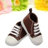 Teamtop Newborn Infant Toddler Kids Baby Boy Girl Soft Sole Crib Shoes Sneaker 0-18M - intl