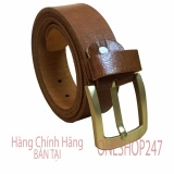 Mua Thắt Lưng 100 Da Bo Thật Nguyen Sợi Chắc Chắn Bền Đẹp A42Tl Bán Hàng Giá Sỉ Nguyên