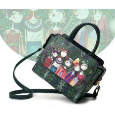 Tui Co Gai Xinh Xắn Letin Tcg Sp 2A6 Xanh Reu Letin Fashion Handbags Rẻ Trong Hồ Chí Minh