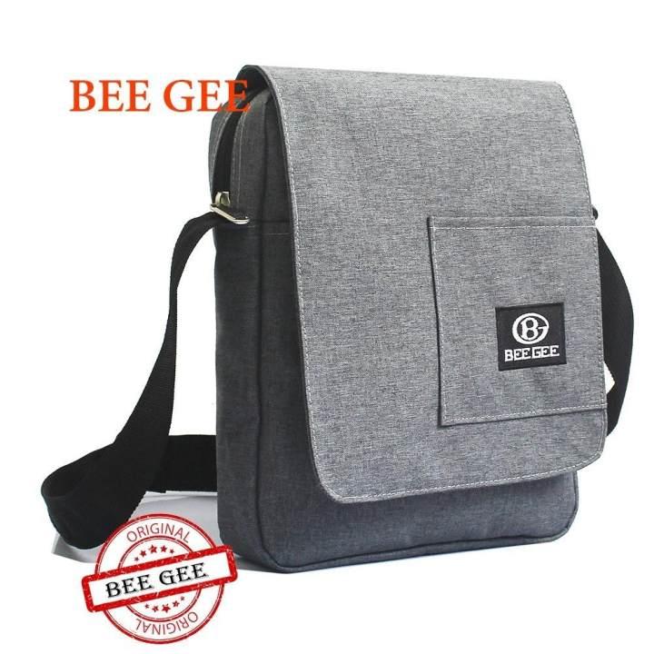 Túi Đeo Chéo Nam Bee Gee 02 (Xám)