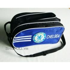 Hình ảnh Túi đựng giày bóng đá hai ngăn xanh