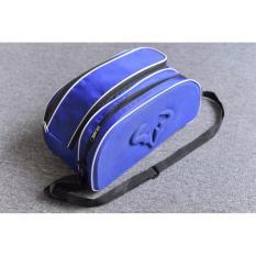 Túi đựng giày bóng đá màu xanh có logo dập nổi rất đẹp
