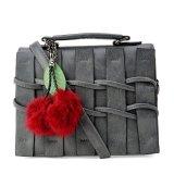 Bán Tui Hang Rao Kem Bong Thời Trang Letin Fashion Handbags T6868 10 210 Xam Nguyên