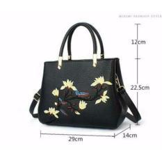 Giá Bán Tui Xach Cong Sở Theu Hoa Cao Cấp Letin T68 Sp 2A5 Đen Letin Fashion Handbags Tốt Nhất