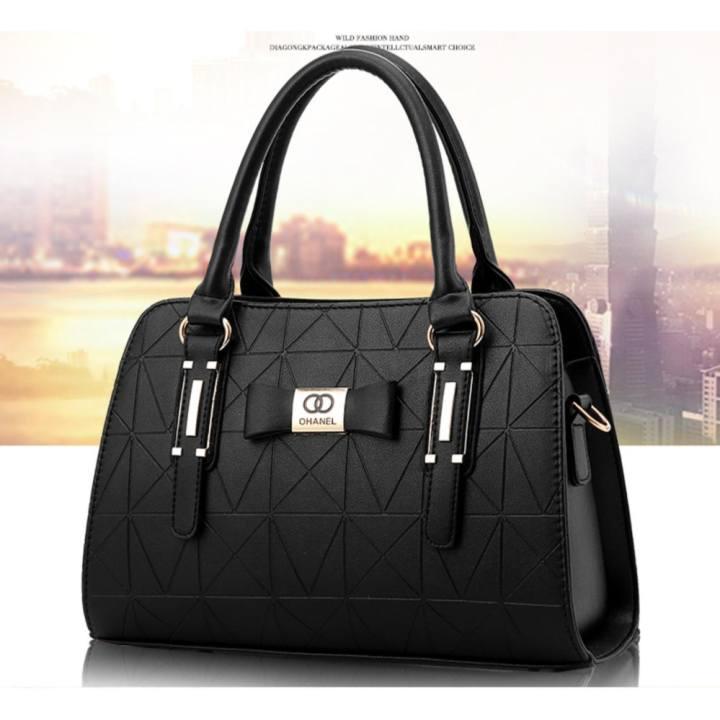 Túi xách nữ cao cấp Adora (màu đen)- TX114