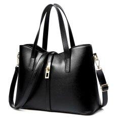 Bán Tui Xach Nữ Queen Kem Day Đeo Letin Fashion Handbags T6868 20 250 Đen