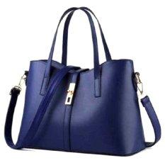 Tui Xach Nữ Queen Kem Day Đeo Letin Fashion Handbags T6868 20 250 Xanh Đậm Trong Hồ Chí Minh
