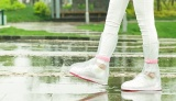 Ủng đi mưa cao cổ chống trượt siêu tiện lợi Nữ size Lớn
