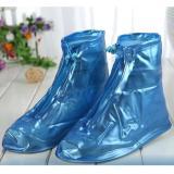 Ủng đi mưa phù hợp mọi loại giày XL (Màu xanh cỡ 41-42)