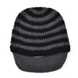 Ôn Tập Unisex Winter Face Mask Crochet Knit Beard Beanie Ski Warm Cap Black Gray Intl Intl