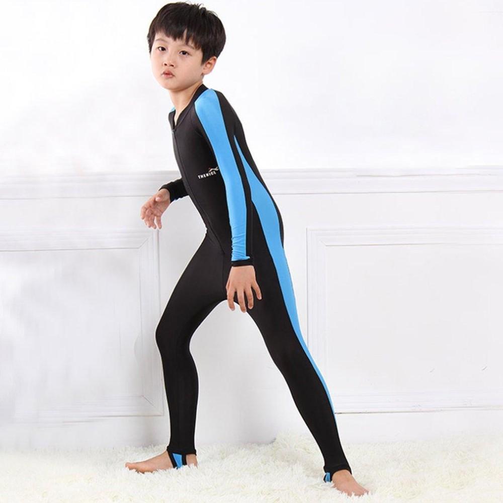 Ustore Lặn Trẻ Em Phù Hợp Với Trẻ Em Đồ Bơi Tay Dài Bé Gái Bé Trai Lướt Đồ Bơi Giữ Nhiệt-Quốc Tế