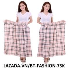 Hình ảnh Váy Chống Nắng Phối Nơ, Có Túi Tiện Lợi - BT Fashion VCN002
