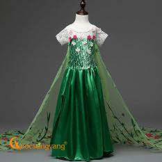 Giá bán Váy đầm bé gái váy đầm công chúa anna đính đá GLV066