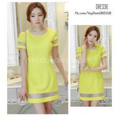 Vay Đầm Suong Đẹp Thời Trang Dạo Phố Cong Sở Dự Tiệc Dressie Ku0735B Vang Vietnam Chiết Khấu
