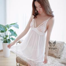 Mua Đồ Ngủ Nữ Đẹp Đầm Ngủ Gợi Cảm Vay Ngủ Phối Ren S*xy Trực Tuyến Rẻ