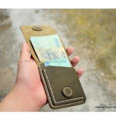 Mua Vi Bop Nam Nhỏ Gọn Độc Đao Handmade Da Bo Galaxy Store Gvu02 Xanh Reu Trực Tuyến Rẻ