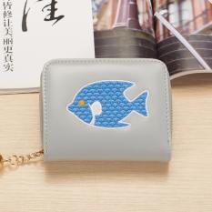 Cửa Hàng Vi Nữ Mini Cầm Tay Họa Tiết Ocean Fish Xam Hồ Chí Minh