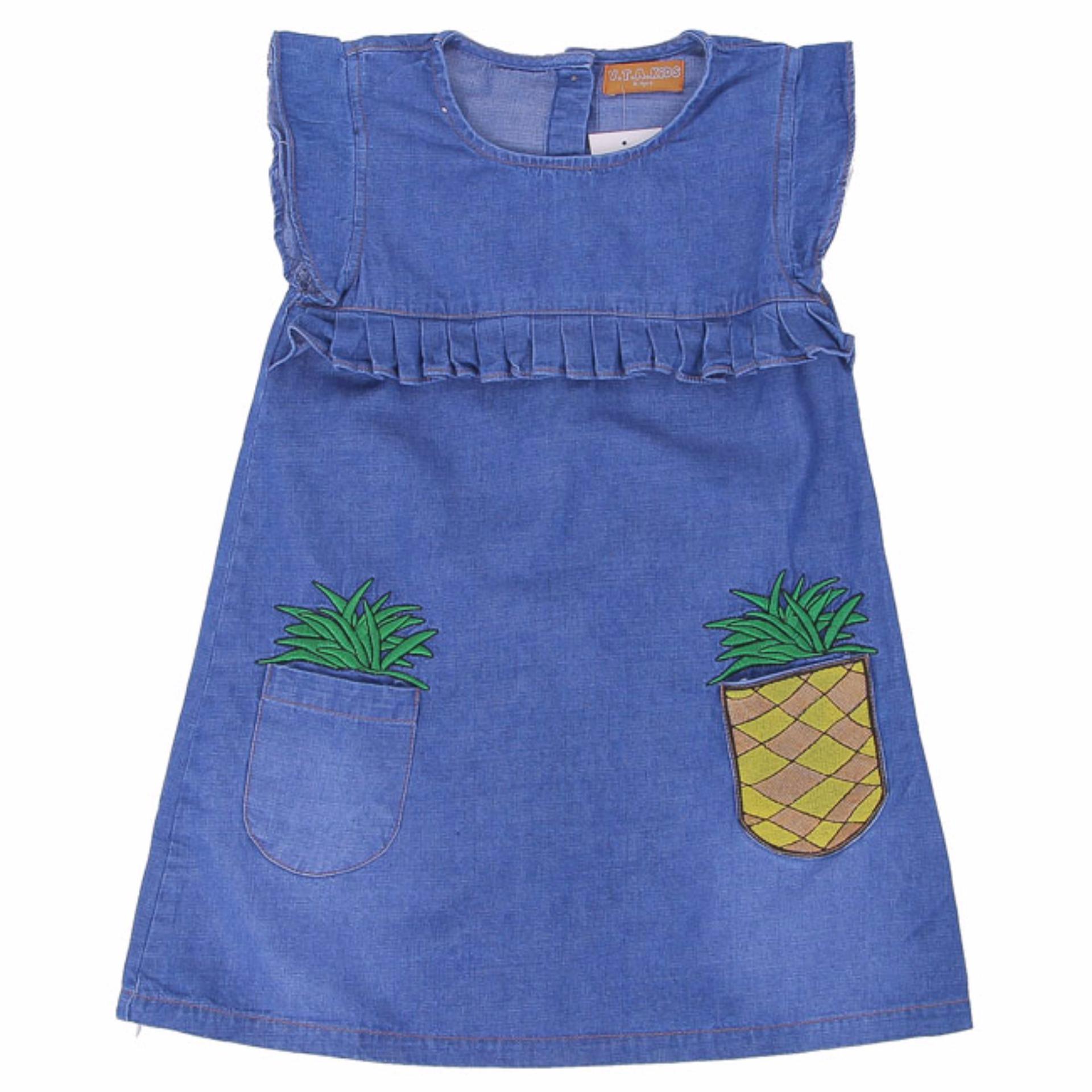 Vta- Đầm Jeans Te Sn Bg70506 4-12