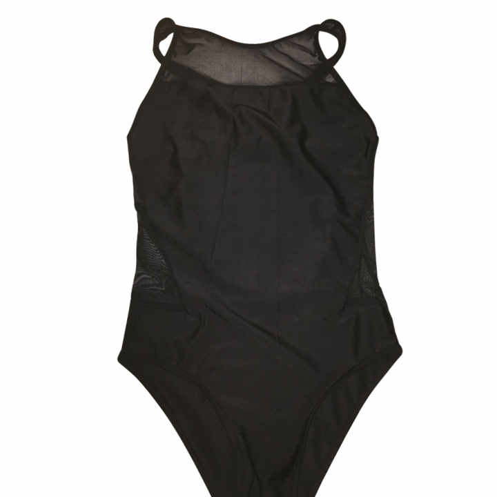 Women Backless Elastic Swimwear Swimsuit Black (Intl)