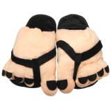 Cửa Hàng Women Funny Large Foot Winter Slippers Home Indoor Floor Non Slip Slipper Women Ladies Warm Foot Plush Shoe Inner Length 25 5Cm Intl Intl Unbranded Trong Trung Quốc