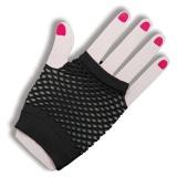 Women Gloves Lace Fishnet Fingerless (Black) Intl - intl