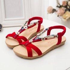 Bán Nữ Mua He Sandals Peep Mũi Giay La Ma Giay Xăng Đan Nữ Xỏ Ngon Quốc Tế Hong Kong Sar China