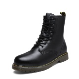 Giá Bán Work Boots Men Fashion Martin Boots For Male Outdoor Safety Boots Black Intl Tauntte Nguyên