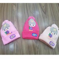 Giá bán Xả hàng-Mũ len bé gái Búp bê tóc xù mềm mịn ấm áp(Khách chọn màu)