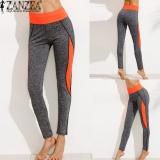 Mua Zanzea Cao Cấp Cho Nữ Quần Thể Thao Nữ Activewear Legging Mua Đong Om Skinny Thun Chạy Quần Quần Legging Tập Luyện Quần Cam Quốc Tế Mới