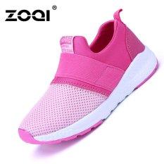 Giá Bán Zoqi Be Trai Va Be Gai Thời Trang Giay Sneaker Thoang Khi Thể Thao Hoa Hồng Quốc Tế Trong Trung Quốc