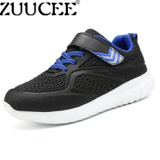 Hình ảnh ZUUCEE Casual Boys Sports Shoes Breathable Running Net Shoes Fashion Stereoscopic Children Shoes (black)【Free Shipping】