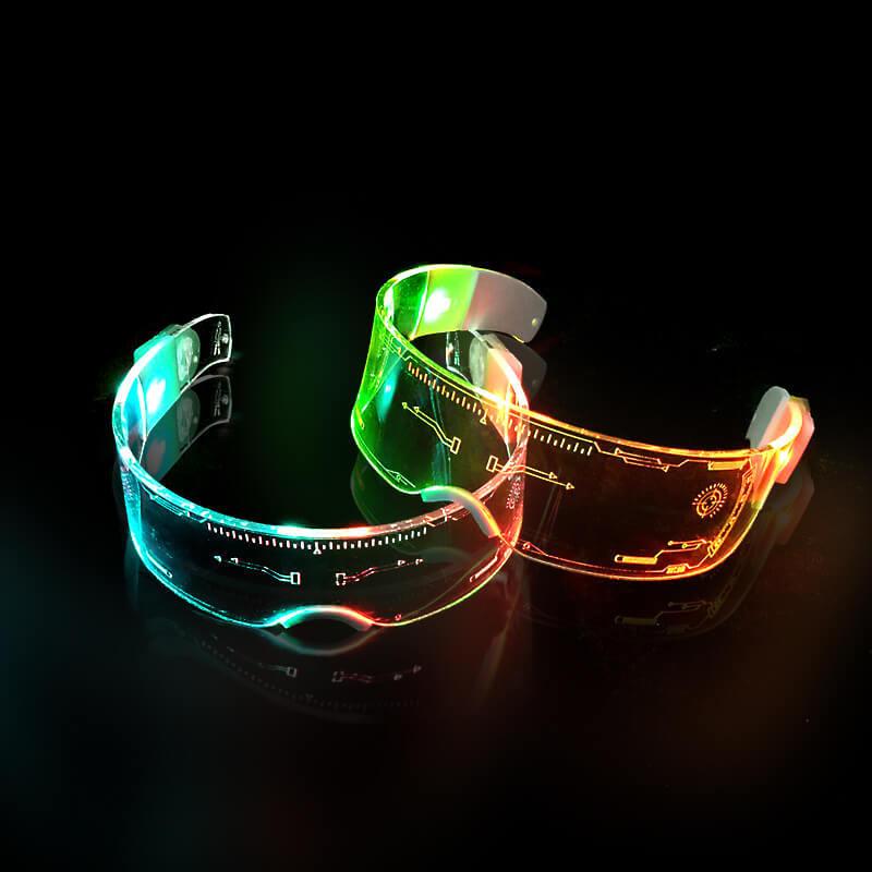 Giá bán Mắt kính LED đổi màu quay Clip Tiktok triệu View cực HOT